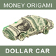 Money Origami. Car Made From American One Dollar Bill - GraphicRiver Item for Sale