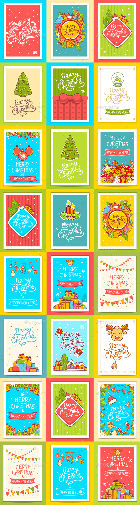 Big Collection of Christmas Cards