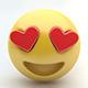 Emoji LOVE - 3DOcean Item for Sale