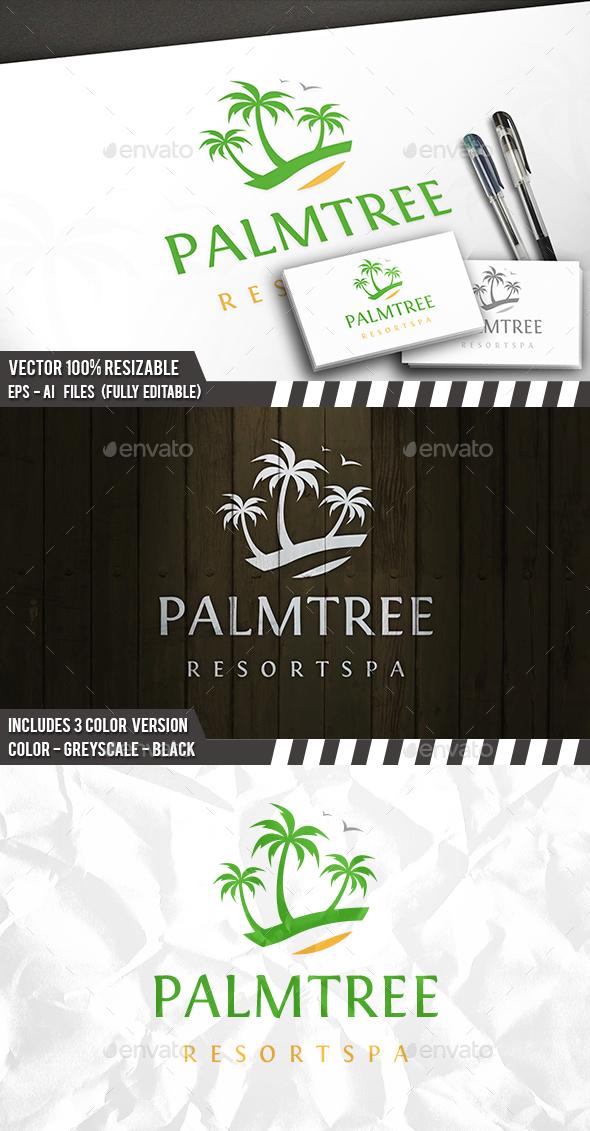 Palm Tree Logo