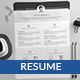RT Resume Template - GraphicRiver Item for Sale