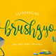 brushgyo typeface - GraphicRiver Item for Sale