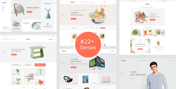Mazano - Fashion, Furniture, Food, Decor, Minimal WooCommerce Theme