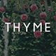 Thyme - A Blog & Shop Theme for WordPress - ThemeForest Item for Sale