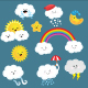Weather Set - GraphicRiver Item for Sale