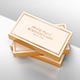 Gold Foil Business Card Mock-Up - GraphicRiver Item for Sale