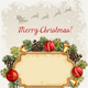 Christmas Illustration with Christmas Bells and Baubles - GraphicRiver Item for Sale