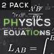 Physics Equations - Optics - VideoHive Item for Sale