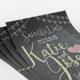 Chalkboard Wedding Invitation - GraphicRiver Item for Sale