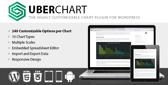 UberChart - WordPress Chart Plugin Download