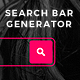 Search Bar Generator - VideoHive Item for Sale