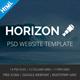 Horizon - Corporate Business Multipurpose Template - ThemeForest Item for Sale