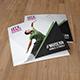 Square Trifold Brochure for Dance Studio - GraphicRiver Item for Sale
