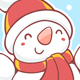 Snowman, Santa Claus and Christmas Reindeer - GraphicRiver Item for Sale