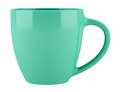 green ceramic cup isolated on white background. 3d illustration - PhotoDune Item for Sale