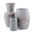 three ceramic vases isolated on white background. 3d illustration - PhotoDune Item for Sale