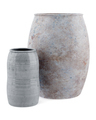 two ceramic vases isolated on white background. 3d illustration - PhotoDune Item for Sale