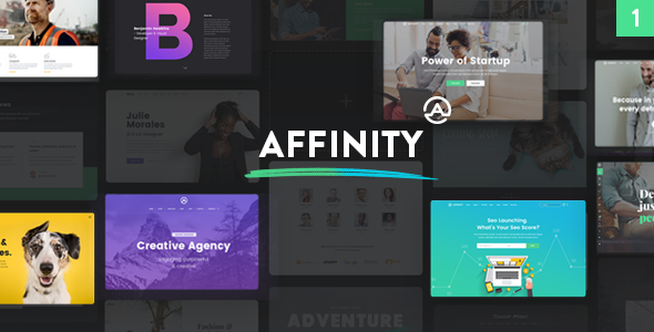 Affinity - Multipurpose WordPress Theme