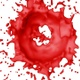 Circle Red Color Splash - VideoHive Item for Sale