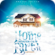 My Home, Heaven on Earth | Poster - GraphicRiver Item for Sale