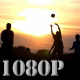 Playing Ball into Sunset 2 - VideoHive Item for Sale
