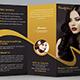 Beauty Salon Trifold Brochure - GraphicRiver Item for Sale
