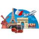 Travel in Paris - GraphicRiver Item for Sale