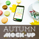 Mock-Up Phone 7 Autumn Macarons - GraphicRiver Item for Sale
