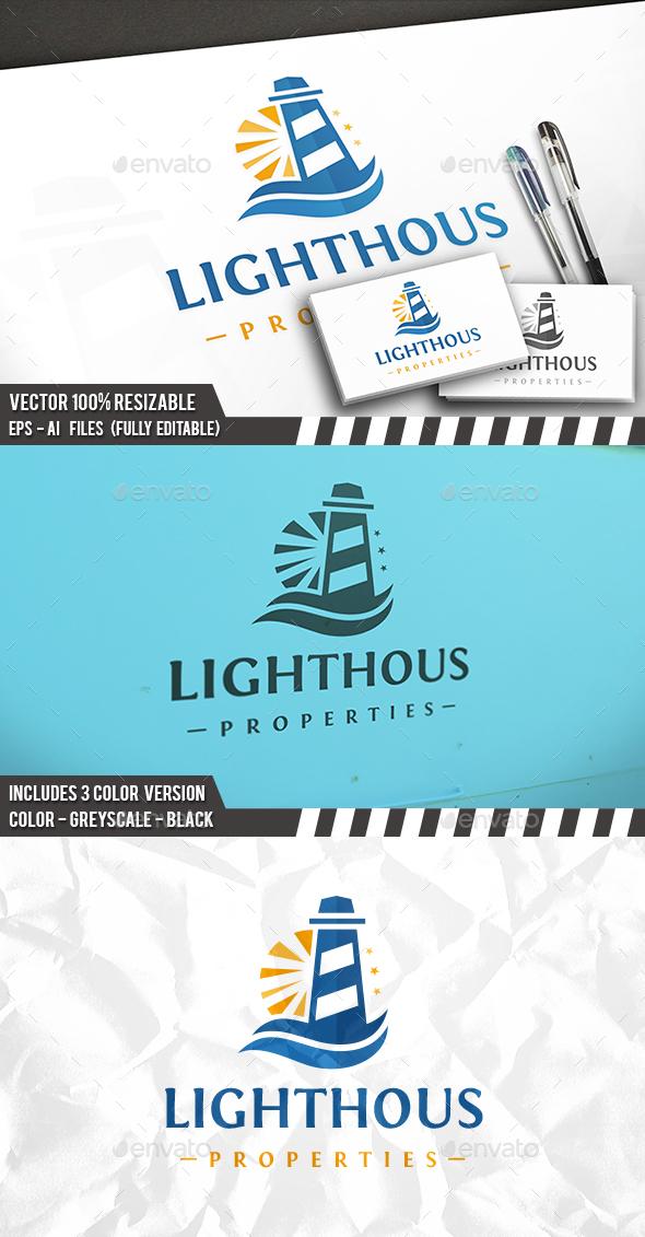 Lighthouse Sun Logo