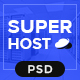 Super Host - Premium Web Hosting PSD Template - ThemeForest Item for Sale