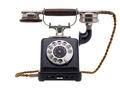 Antique black telephone - PhotoDune Item for Sale