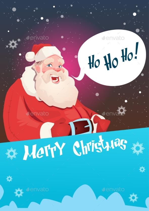 Santa Claus Christmas Holiday Happy New Year