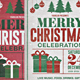Vintage Christmas Party Flyer - GraphicRiver Item for Sale