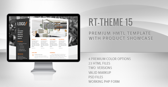 RT-Theme 15 Premium HTML Template