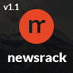 Newsrack - Responsive WordPress Blog Theme With Infinitive Load - ThemeForest Item for Sale