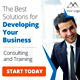 Consulting Business Web Ad Marketing Banners - GraphicRiver Item for Sale