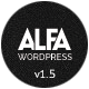 Alfa - Responsive Parallax & Retina Ready WordPress Theme for Freelancers, Studios and Agencies - ThemeForest Item for Sale