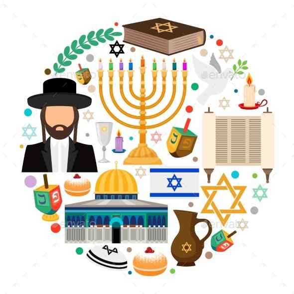 Jewish Holiday Symbols