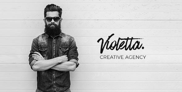 Violetta - WordPress Creative Agency Theme