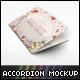 Accordion Wedding Invitation Mockup - GraphicRiver Item for Sale