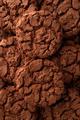 Dark chocolate cookies background - PhotoDune Item for Sale