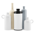 ceramic vases isolated on white background. 3d illustration - PhotoDune Item for Sale