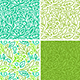 Seamless Patterns with Green Leaves - GraphicRiver Item for Sale