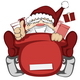 Santa Claus in Action - GraphicRiver Item for Sale