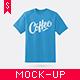 T-Shirt Mock-up - GraphicRiver Item for Sale