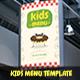 Kids Restaurant Menu Template - GraphicRiver Item for Sale