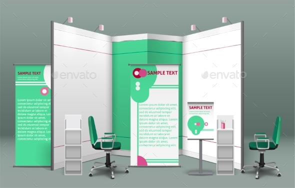 Exhibition Stand Mockup Psd Free : Exhibition booth graphics designs & templates from graphicriver
