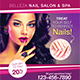 Nail Salon Flyer Template - GraphicRiver Item for Sale