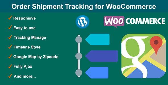 Order Shipment Tracking for WooCommerce