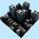 Low Poly CityTown - 3DOcean Item for Sale